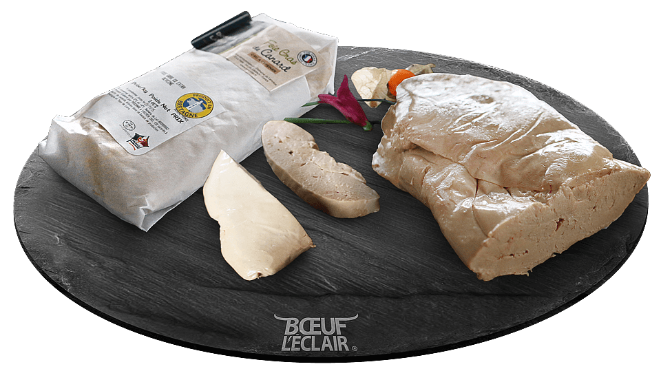 foie gras de canard cru