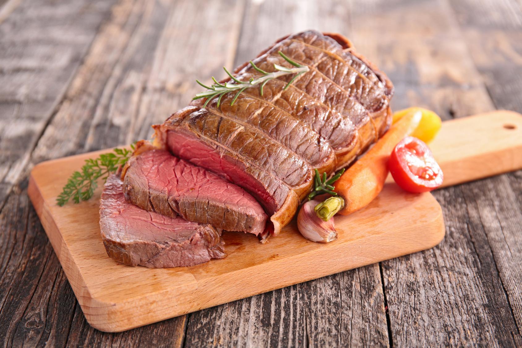 roast beef on board