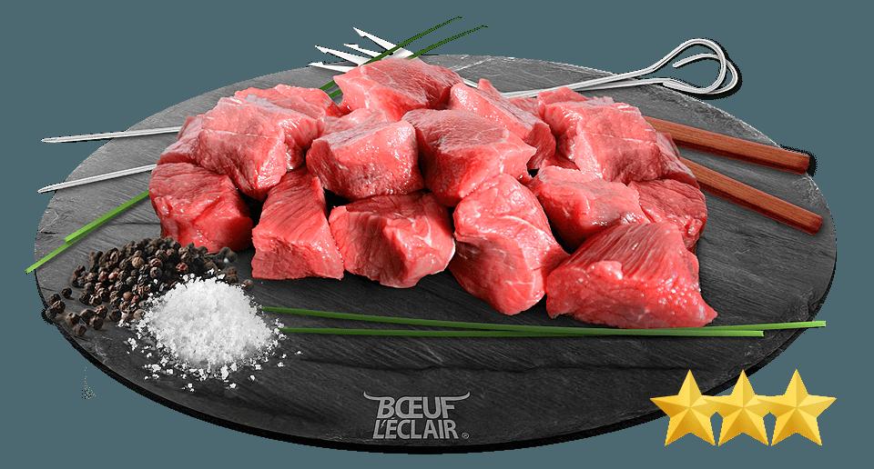 viande a brochette +++